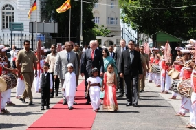 German Foreign Minister concludes visit to Sri Lanka