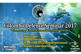 'Colombo Defence Seminar' on August 28, 29