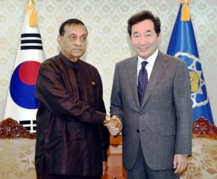 Speaker of Sri Lanka Parliament  highlights importance of Sri Lanka–Korea relationship on his official visit to the Republic of Korea