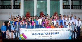 Dissemination seminar by KSP consultants for automated taxation system in Colombo