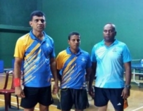 Navy wins National Veteran Table Tennis Championsh