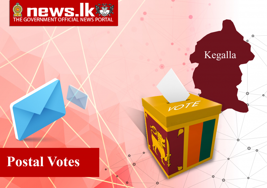 Polling Division : POSTAL District : Kegalle