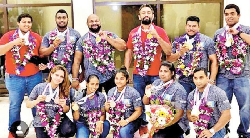 Lankan powerlifters create history in Australia