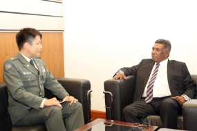 Japanese Defence Attaché meets Secretary