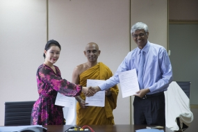 Eco-agriculture agreement signed by Chinese and Sri Lankan institutions