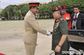 Malaysian Defence Force Chief calls on Army Commander