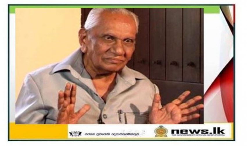 Veteran journalist Edwin Ariyadasa passes away