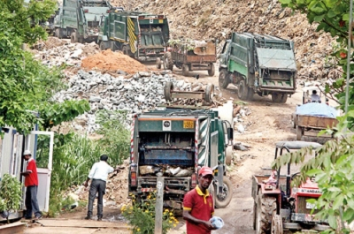 Colombo garbage problem to be resolved by Monday