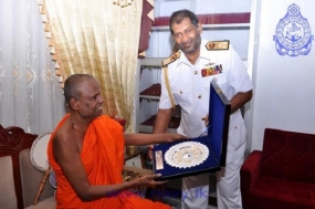 Navy Commander visits the Sacred City of Anuradhapura