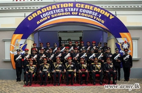 First Batch of Graduates at Army School of Logistics  pass out
