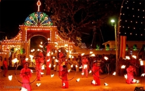 Annual Kataragama Esala Perahera on July 17