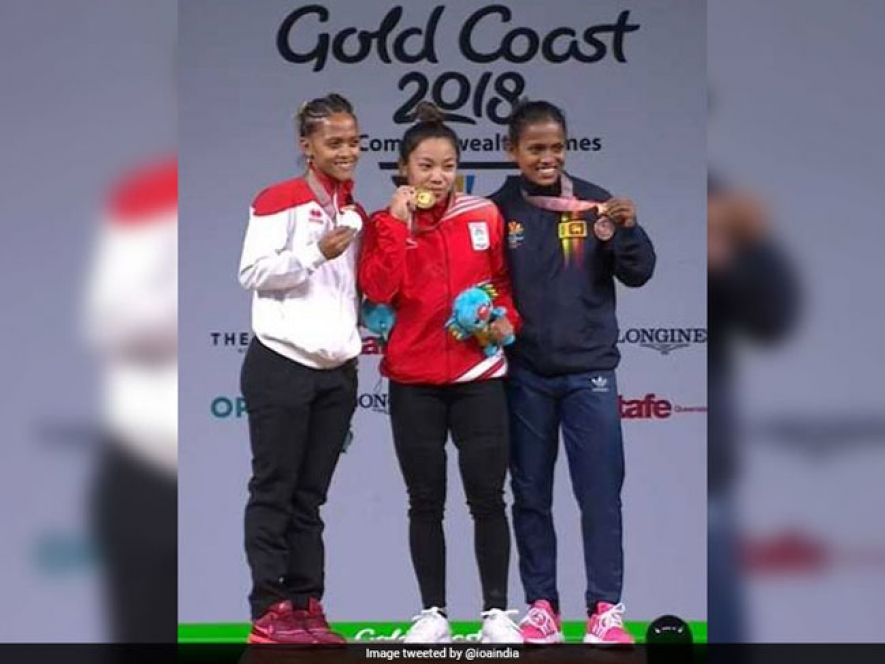 Dinusha Gomes wins bronze at CWG 2018