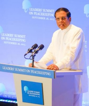 Sri Lanka reiterates continued commitment to UN peacekeeping