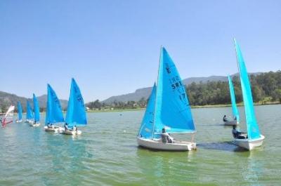 Gregory Lake splashed by Jet Ski riders