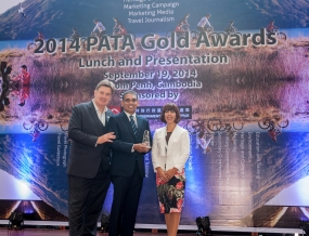 Aitken Spence Travels awarded a prestigious Gold Award at PATA 2014