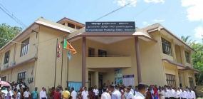 President declare opens the New Pradeshiya Sabha building at Tambalagamuwa
