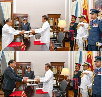 Two more Ministers from UNP and ITAK