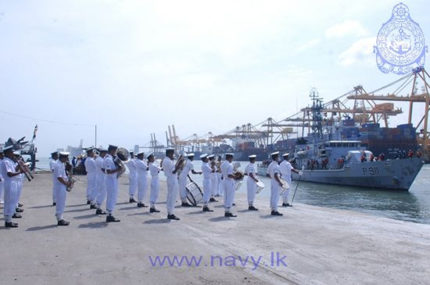 Bangladesh Naval Ships arrives at the Port of Colombo on goodwill visit