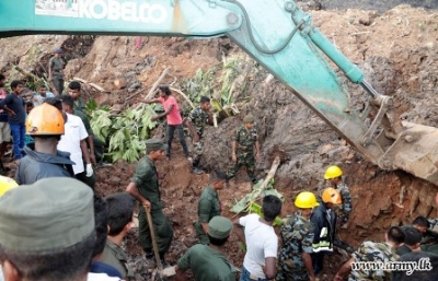 Relief operations still underway at Meethotamulla