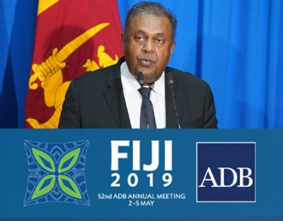 FM leads Sri Lankan delegation to ABD meeting in Fiji