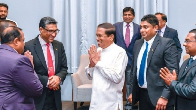 President meets Sri Lankan community in Kenya