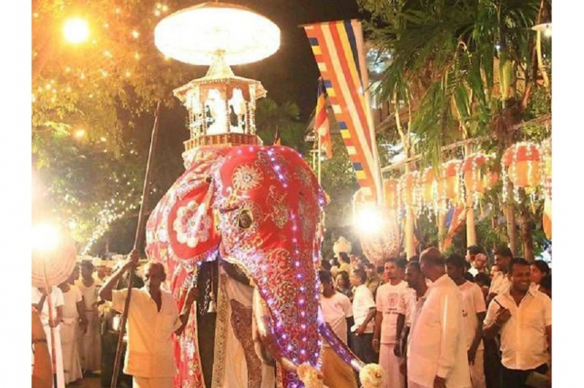 Temporary road closure for Kotte Esala Perahera