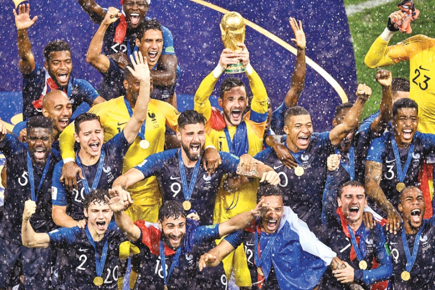France wins 2018 FIFA world cup