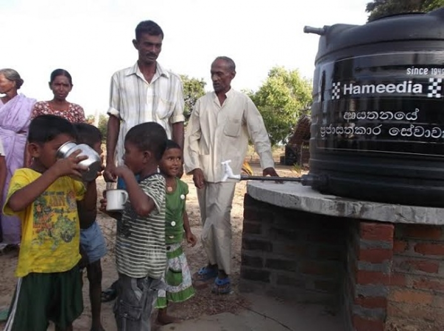 Hameedia Helps Drought-Stricken Families in North-East Sri Lanka