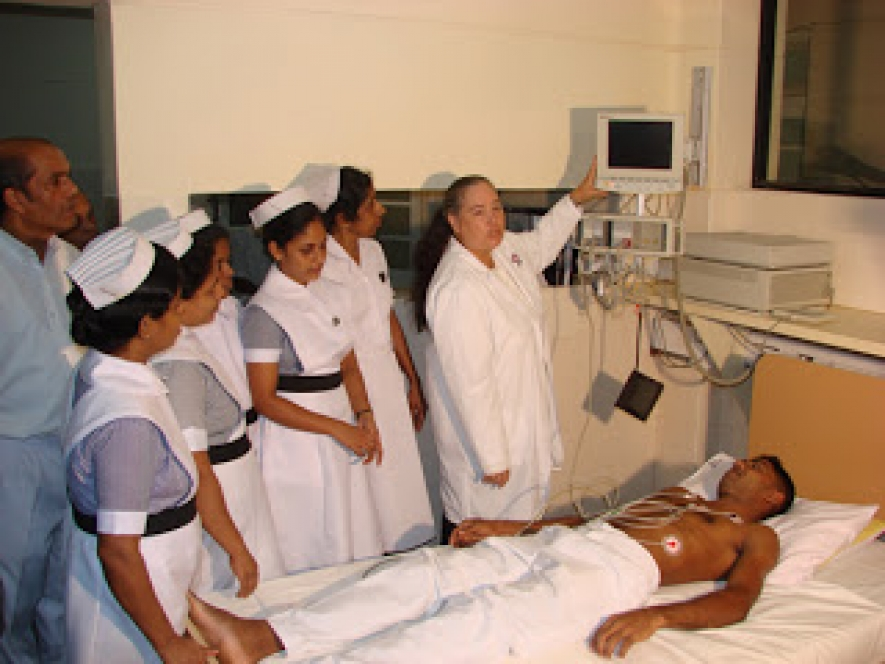 Nursing schools in Kandana, Hambantota & Matara  to be developed
