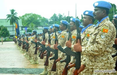 Army contingent ready for UN Mission in Mali