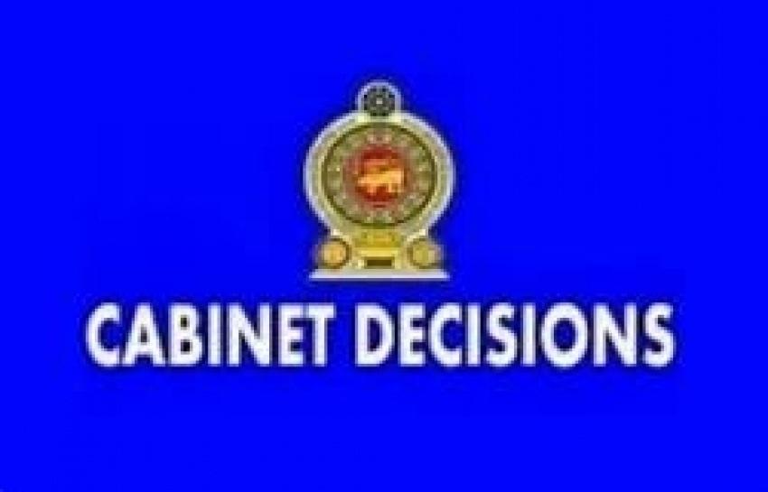 Cabinet Decision taken on 2019-09-24