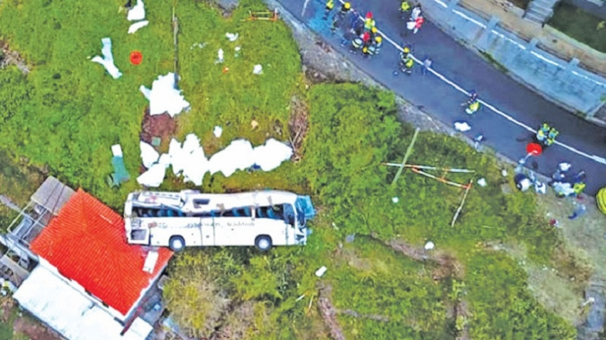 29 German tourists killed in Madeira bus crash