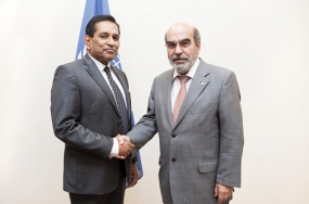 Minister Rajitha meets DG, FAO in Rome