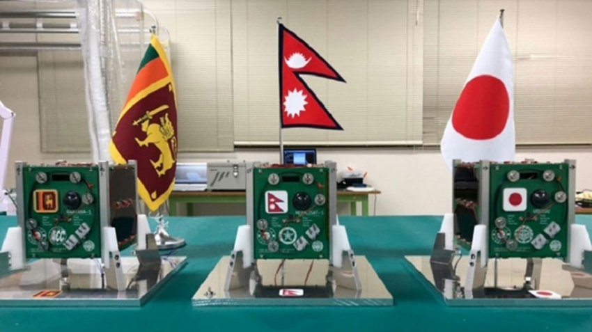 Sri Lanka's first satellite to be launched tomorrow