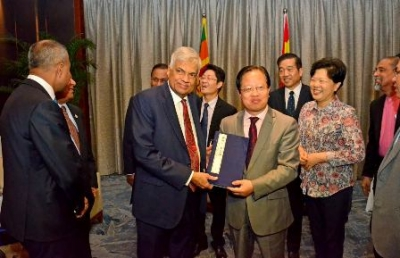 PM appreciates Chinese and Sri Lankan book publishers