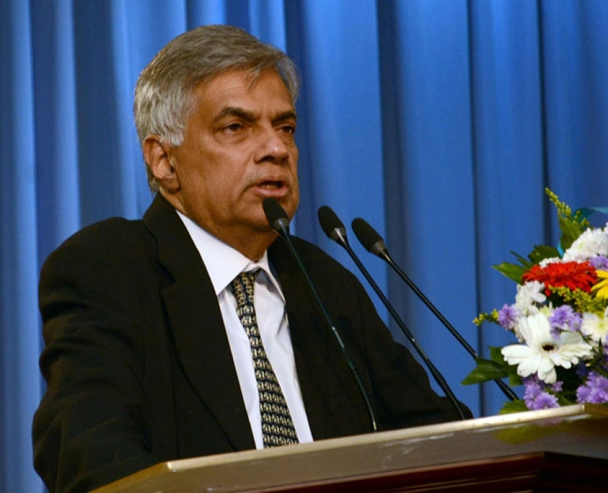 Statement of  Ranil Wickremasinghe, Prime Minister of Sri Lanka in New Delhi on Sept.15, 22015