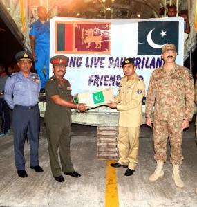 Second Cargo Flight of Pakistani Relief Goods for  Landslide Victims Arrives