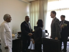 Finance Minister meets Deputy Vice President of MCC