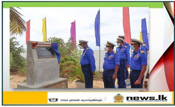 New jetty of Uchchamunei Naval Detachment in Kalpitiya declared open