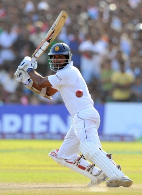 Sangakkara is once again the No. 1 Test batsman in the world