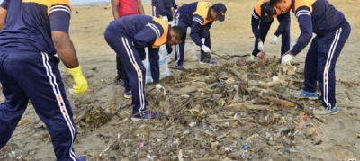 Island-wide Beach Cleaning Project Gets Underway
