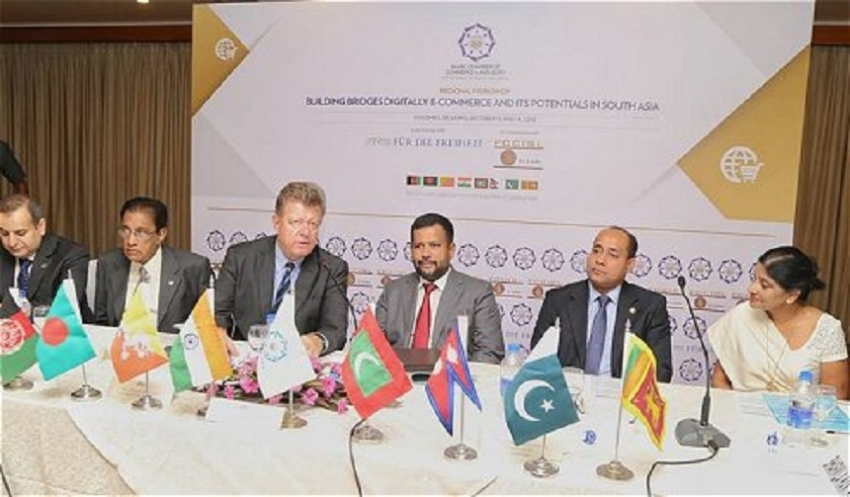 Lanka emphasizes on utilizing e-commerce to boost South Asia regional trade