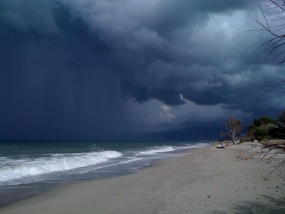 Showers or thundershowers in the sea areas from Puttalam to Hambantota