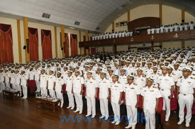 Navy begins  Specialization Courses at Naval and Maritime Academy