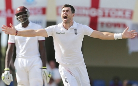 James Anderson goes wicket-less for first time in 59 Test matches