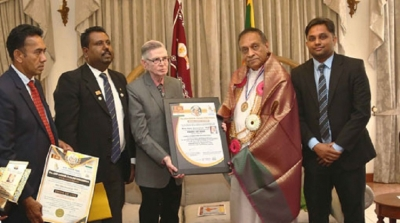 Speaker Karu Jayasuriya awarded 'Pride of Asia'