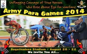 Army Para Games starts today