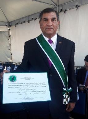 Sri Lankan Ambassador in Brazil awarded with Degree of Gran Cruz