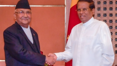Nepal PM pledges to take forward Nepal-Sri Lanka relations closer & stronger