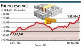Country's foreign reserves to increase to usd 9bn
